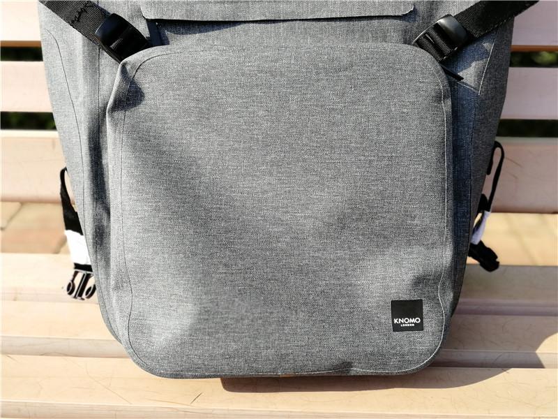时尚轻奢的商务旅行跨界背包——knomo折叠旅行包开箱体验
