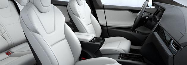 特斯拉Model S/X内饰更新 新增选装配置