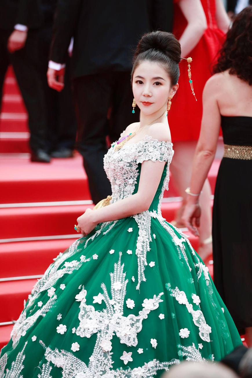 闪耀戛纳电影节--Gisselle Liu 创始人刘紫茵