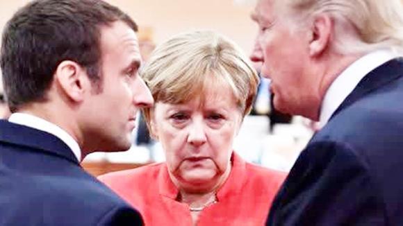 特朗普逼人太甚 法德只能转向俄罗斯?