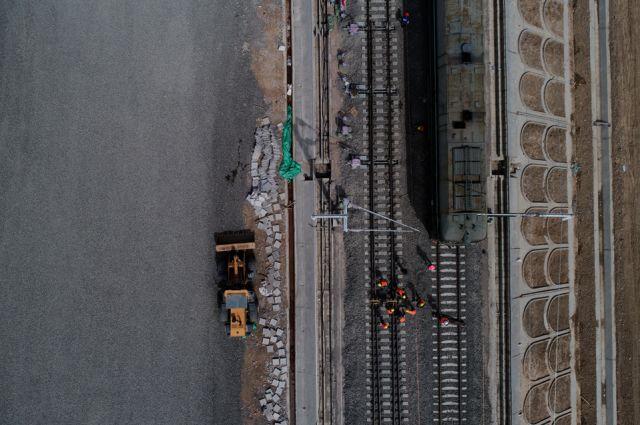 【新视觉】银川高铁东站有变化!轨道现已穿城而过,未来可抵