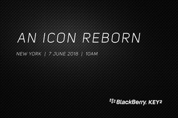 骁龙660加持!黑莓KEY2宣布:6月7日亮相