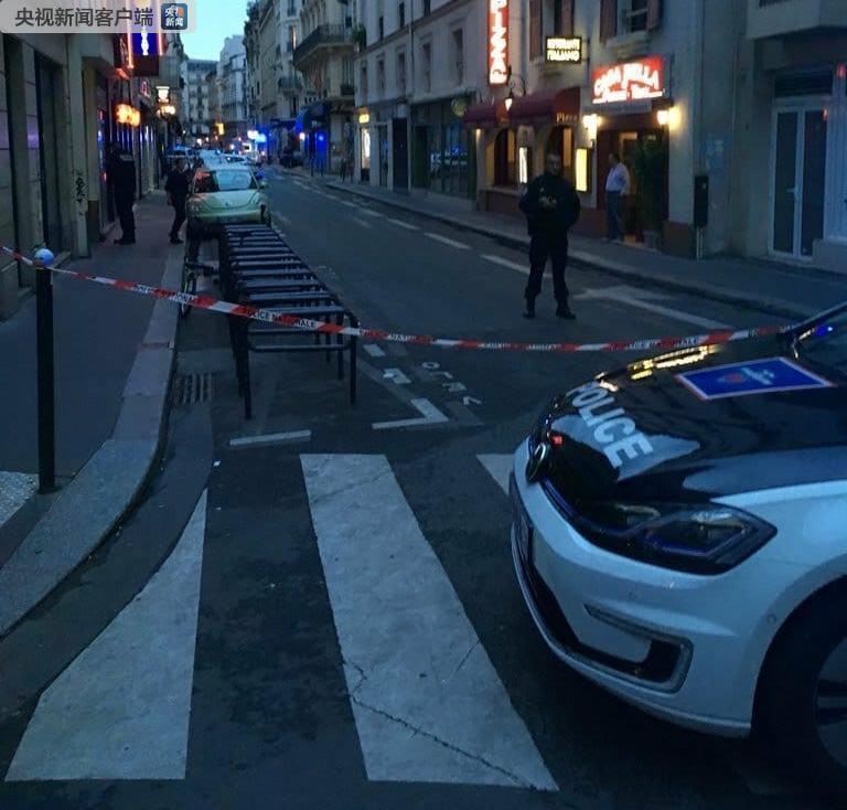 巴黎市区突发持刀袭击路人恐袭事件 IS宣布负责