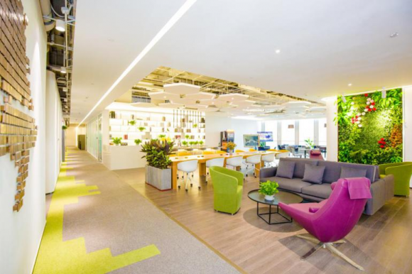 FUNWORK引领办公新时尚,携手绿地开启中原办公新