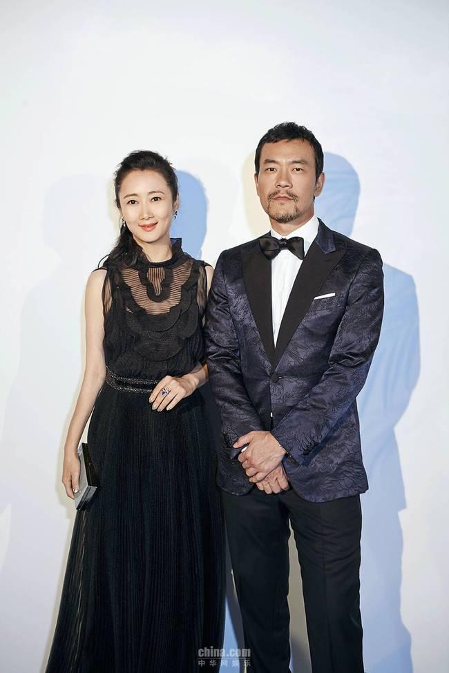 廖凡戛纳出席时尚活动 中国绅士显风度