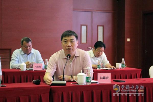 河南冰熊专用车辆制造有限公司董事长陆鑑青