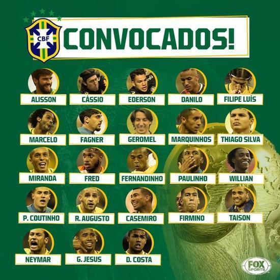 国安核心成巴西队世界杯中超独苗 原因竟是这些