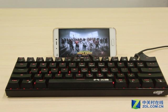 当手游遇上机械键盘 北通K1手游键盘评测