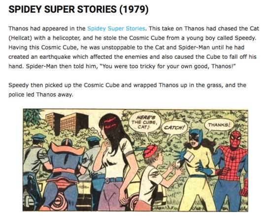 《Spidey Super Stories》的经典画面