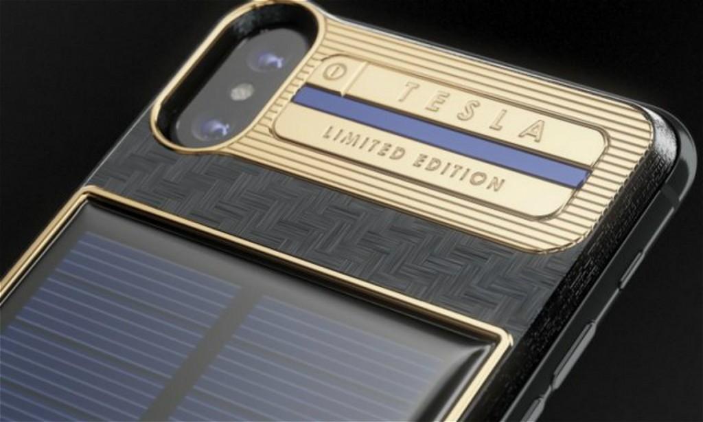 史上最贵iPhone X!售价4000美元、内置太阳能