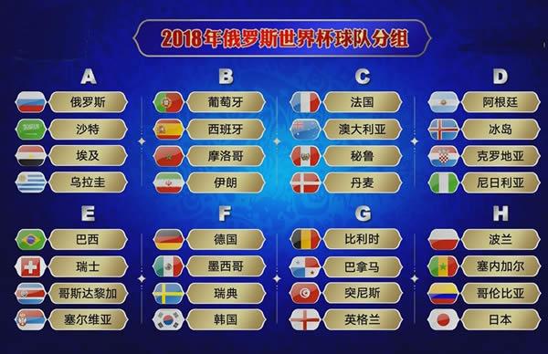 2018世界杯时间表【全】世界杯2018赛程表