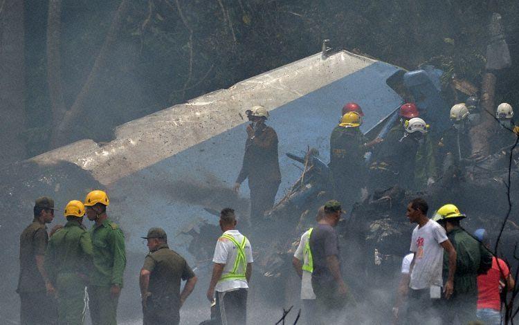 古巴一架载113人客机坠毁 3名幸存者重伤入院