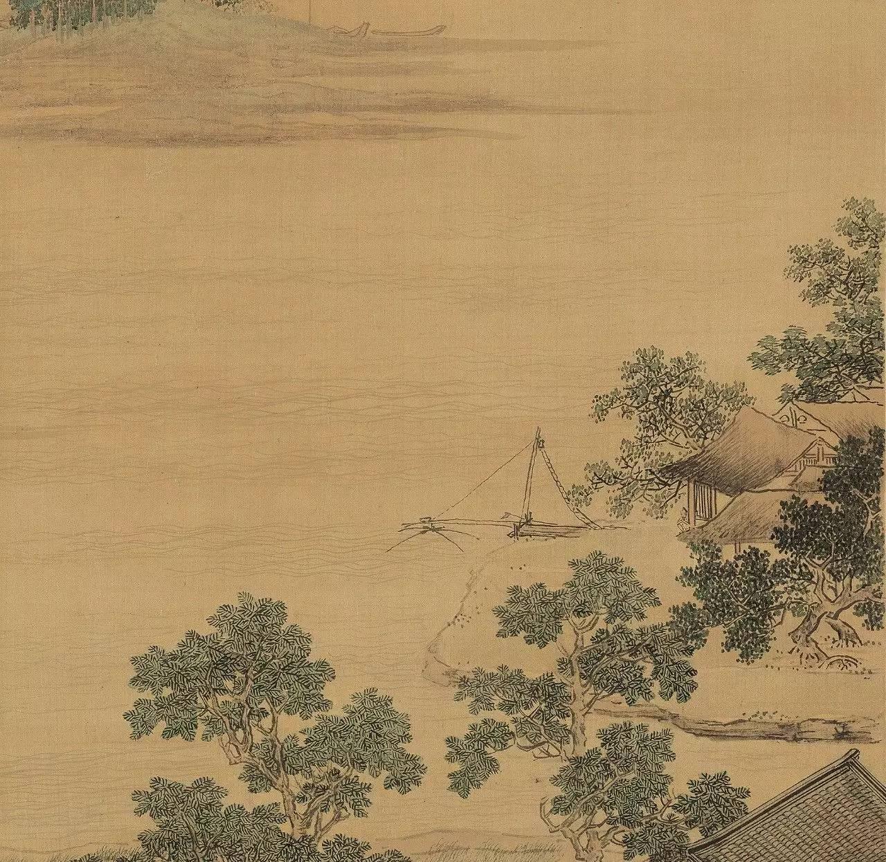 恬静安乐的生活,玛兹尔的发现,圣元特配粉明,仇英《莲溪渔隐图》欣赏