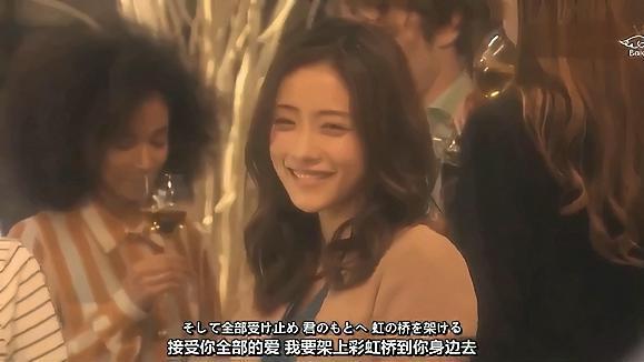 日本女星石原里美的笑容,不开心的时候看,太治愈了