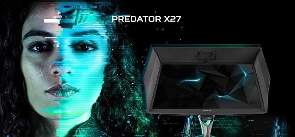 终于等到你 宏碁发布首款4K专业电竞显示器