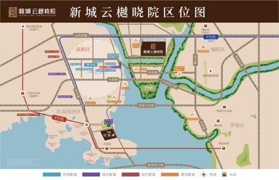 处青岛高新区核心地带,地铁m8号线交汇m9号线,畅通来往新老城区.
