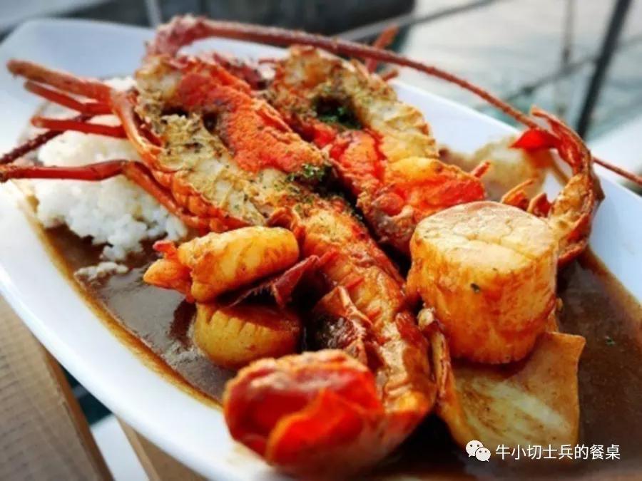 日本海军高官的特供美食:伊势虾咖喱饭
