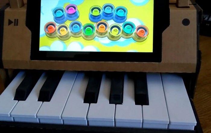 3D打印模块将Nintendo Labo钢琴变成了一架迷你钢琴