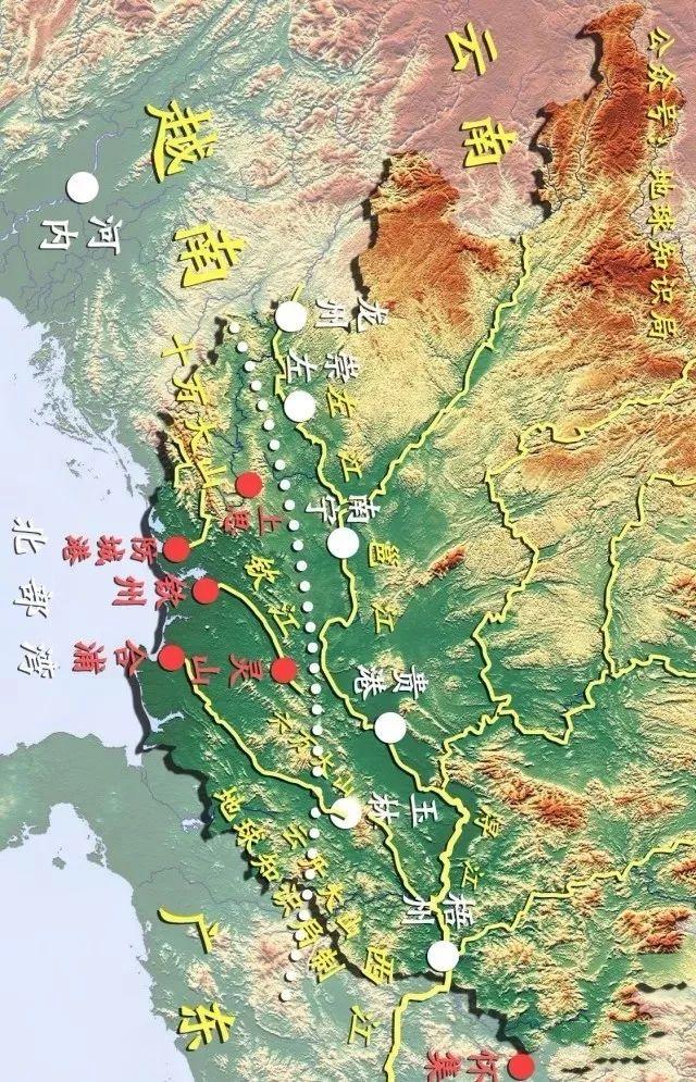 经过一年的筹备,政务院在1952年正式发文,将钦廉地区划归广西省(那