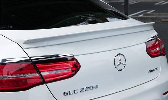 还嫌奔驰GLC Coupe不够漂亮?那你应该改改了