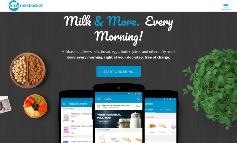 以鲜奶订购业务起家,印度社区电商平台 Milkb