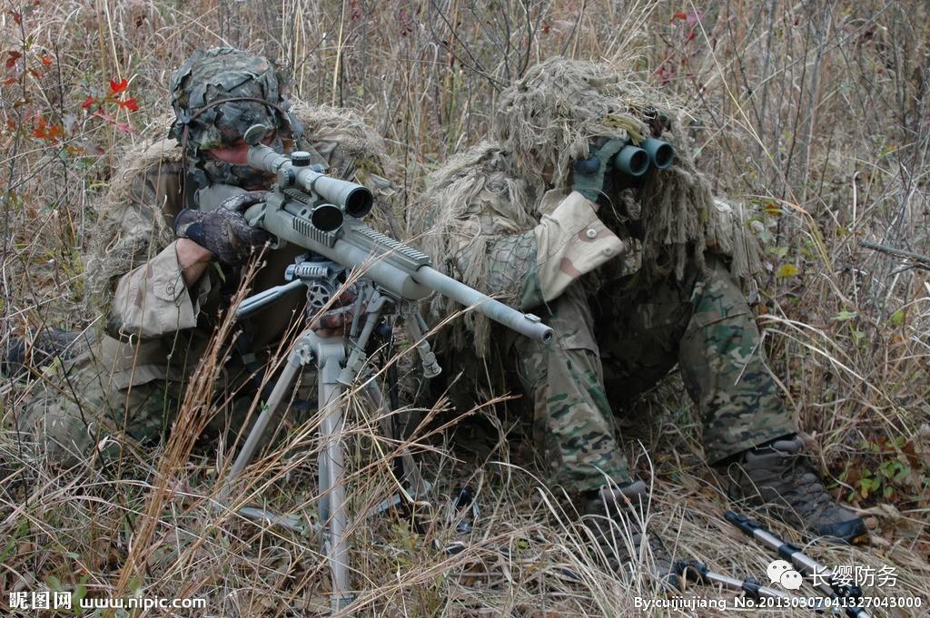 狙击手执行任务最爱多带的是什么?不是子弹!