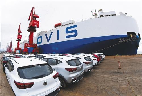 连云港港口迎来今年整车出口第一大单_韩式1.5分彩是官方的嘛
