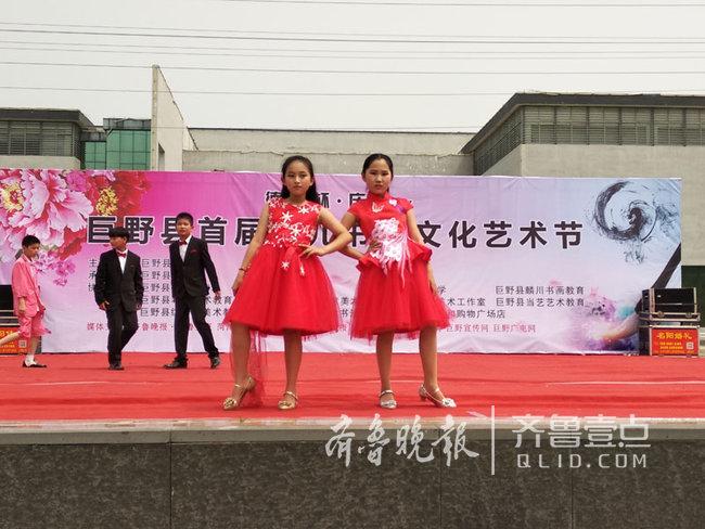 欢乐六一!数百个小朋友在巨野县书画院玩嗨了!