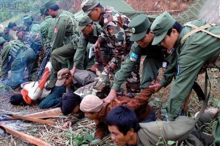 想当年缅甸小勐拉颠沛流离的偷渡者