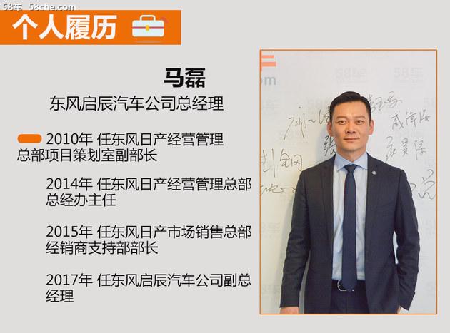 接替周先鹏 马磊任东风启辰公司总经理