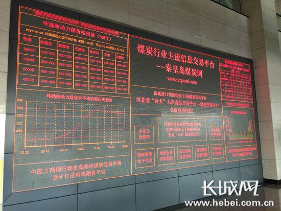 河北港口集团秦皇岛海运煤炭交易市场发布