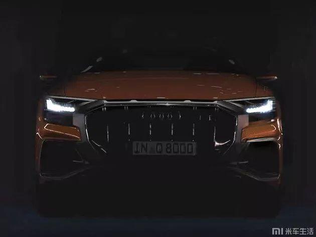 奥迪最贵SUV即将发布造型霸气激进车尾酷似兰博基尼Urus_谁有凤凰