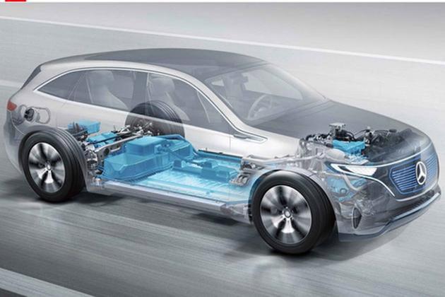 奔驰EQC量产版假想图 续航里程超500km