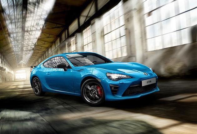 丰田86推Club Series蓝色版 个性化设计