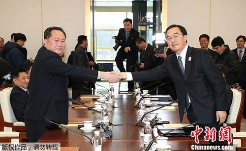 朝韩举行高级别会谈 冀为朝美首脑会谈营造积极环境