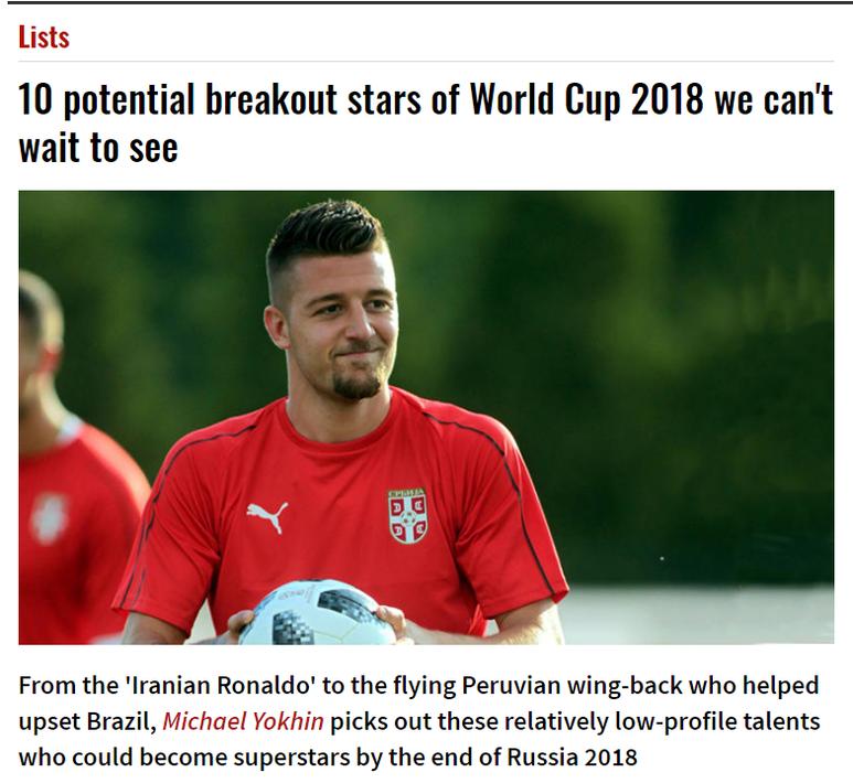 谁将在本届世界杯一球成名?也许是这十位新星