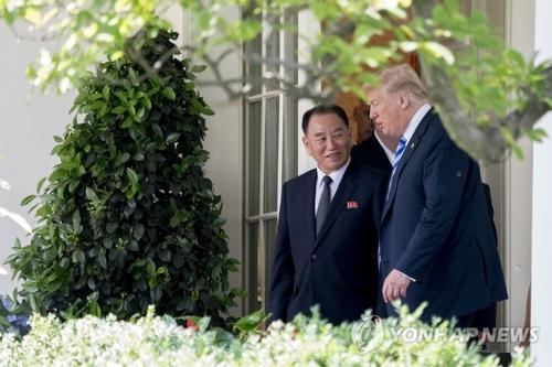 韩媒:青瓦台欢迎朝美如期举行领导人会谈