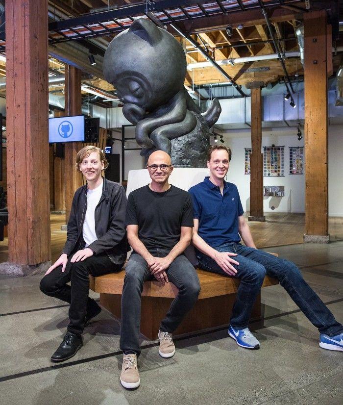 《微软今正式宣布以价值75亿美元的股票收购代码托管平台GitHub》