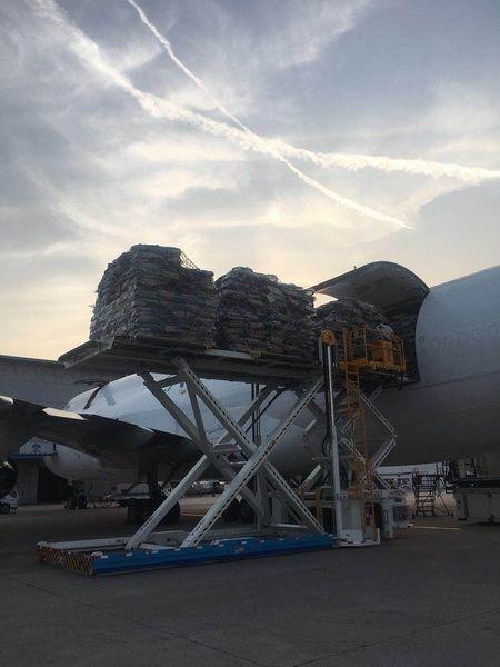 天津机场货运公司顺利保障越阿维亚航空货包机