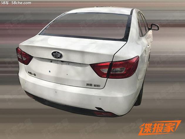 奔腾B30新车型曝光 或将搭载1.0T发动机