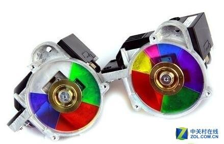 RGB分色是必须_投影机为什么需要色轮?
