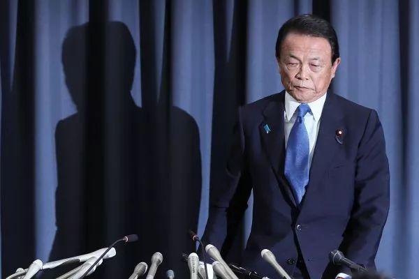 甘为安倍背锅 日本财务大臣自罚一年薪水