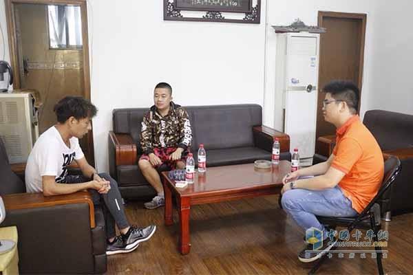 中国卡车网对广汽日野用户采访
