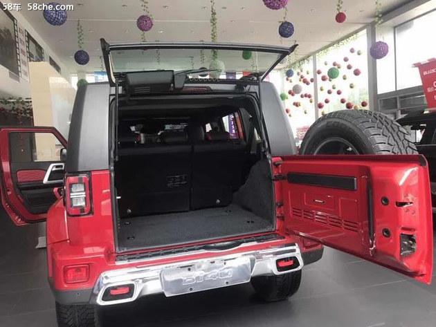 全新北京BJ40 plus 包头绅宝新车到店!