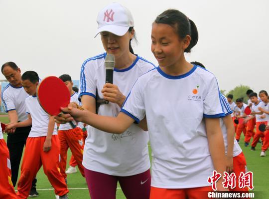 该公益计划将通过捐助运动器材、助力乡村体育教育、组织城乡体育互动,探索参与式公益的创新模式。 刘昌勇 摄