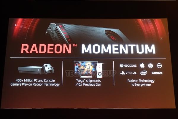 AMD:Vega显卡销量10倍于前辈