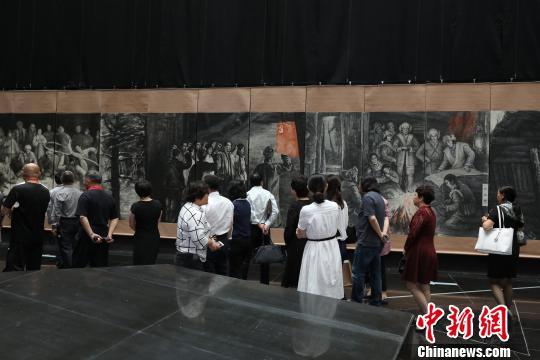"""中国最大规模""""抗联""""主题艺术综合体亮相中国北疆"""