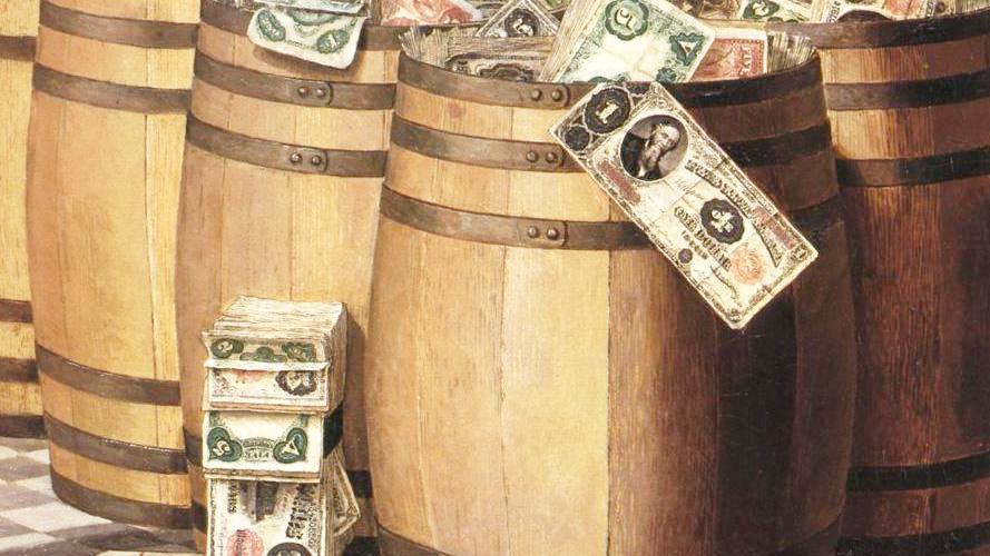 日本再次重手抛美债,多国运回存美国的黄金,再给全世界上了一课