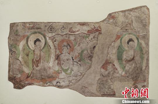 流失海外的新疆龟兹石窟壁画以图片形式在故里首次展出