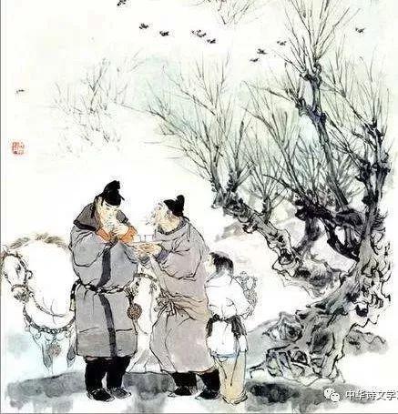 """王维的这首送别诗,短短六句,却有""""拈花一笑,不言而喻""""的效果"""